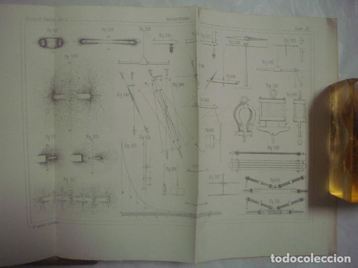 Libros antiguos: M.POUIITLET, ELEMENTOS DE FÍSICA EXPERIMENTAL. 1841. MULTITUD DE GRABADOS. FOLIO. - Foto 7 - 69006677