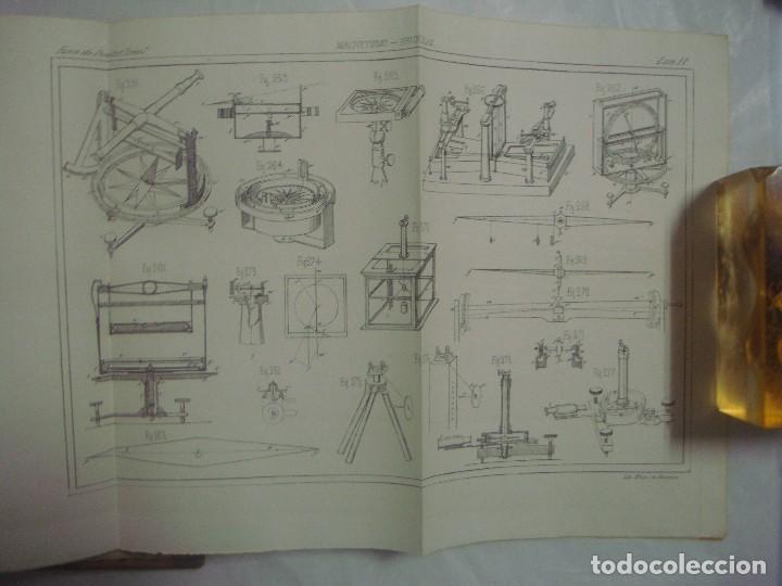 Libros antiguos: M.POUIITLET, ELEMENTOS DE FÍSICA EXPERIMENTAL. 1841. MULTITUD DE GRABADOS. FOLIO. - Foto 8 - 69006677