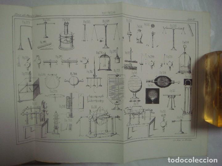 Libros antiguos: M.POUIITLET, ELEMENTOS DE FÍSICA EXPERIMENTAL. 1841. MULTITUD DE GRABADOS. FOLIO. - Foto 9 - 69006677