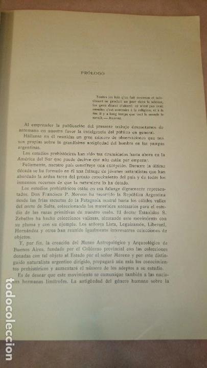 Libros antiguos: LA ANTIGUEDAD DEL HOMBRE EN LA PLATA,FLORENTINO AMEGHINO - Foto 5 - 69427997