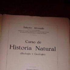 Libros antiguos: CURSO HISTORIA NATURAL 1933. Lote 70398513