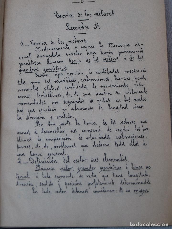 Libros antiguos: CALCULO INTEGRAL Y MECANICA RACIONAL : TOMO II - CARLOS MATAIX - MADRID 1908. - Foto 3 - 71130265