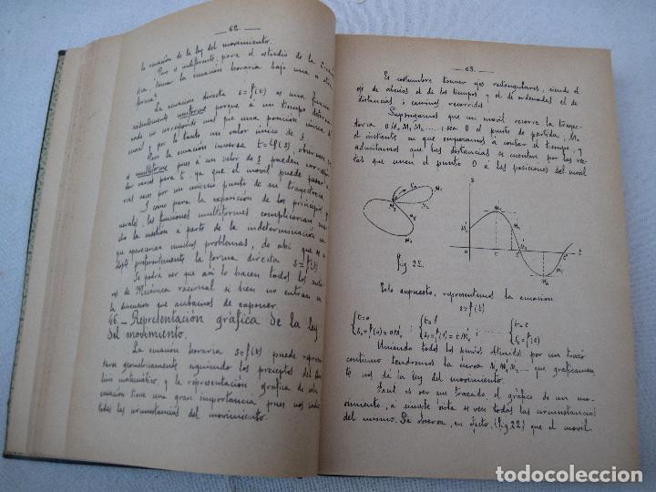 Libros antiguos: CALCULO INTEGRAL Y MECANICA RACIONAL : TOMO II - CARLOS MATAIX - MADRID 1908. - Foto 4 - 71130265