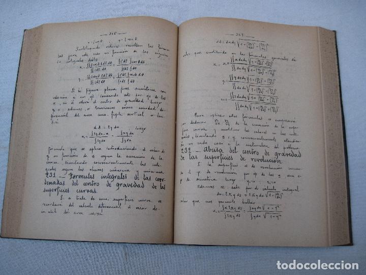 Libros antiguos: CALCULO INTEGRAL Y MECANICA RACIONAL : TOMO II - CARLOS MATAIX - MADRID 1908. - Foto 5 - 71130265