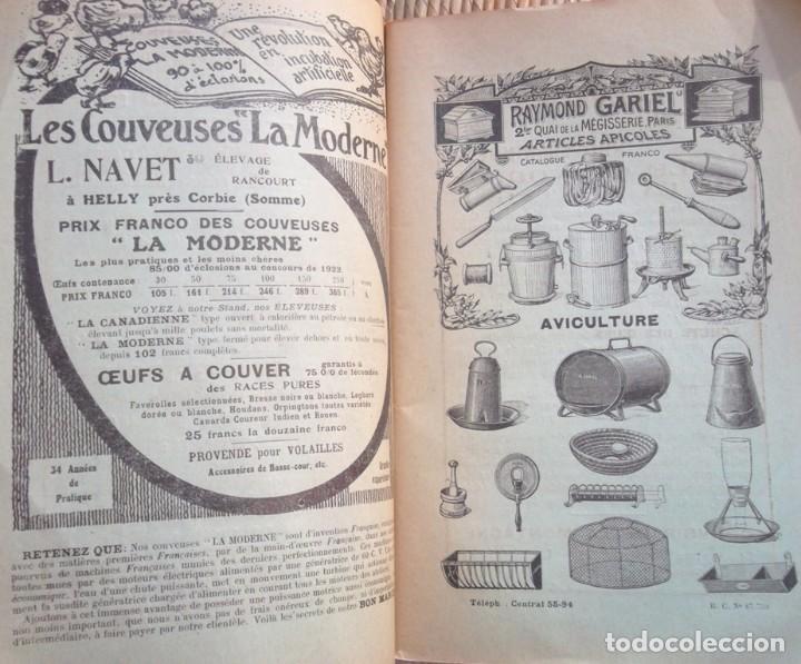Libros antiguos: 49e Exposition Internationale d'Aviculture a Paris 1924 Palmarès Catalogue TBE avicultura - Foto 4 - 72802595