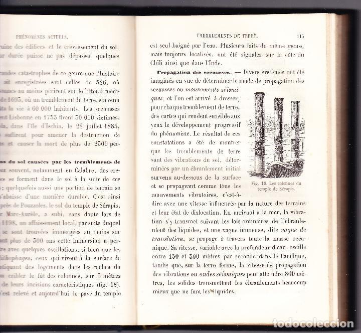 Libros antiguos: ABREGE DE GEOLOGIE - LAPPARENT - 1886 LIBRAIRIE F SAVY - Foto 3 - 73301275