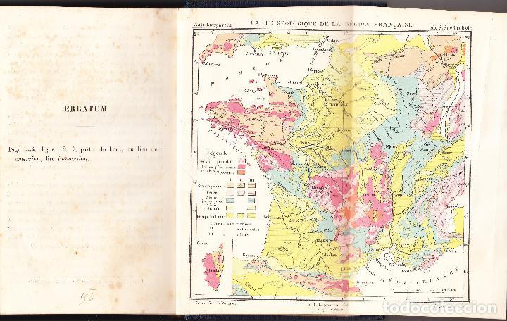 Libros antiguos: ABREGE DE GEOLOGIE - LAPPARENT - 1886 LIBRAIRIE F SAVY - Foto 5 - 73301275