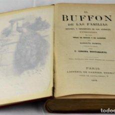 Libros antiguos: 'EL BUFFON DE LAS FAMILIAS' DE AUGUSTO DUBOIS. TRADUCCION AL CASTELLANO DE F. CORONA BUSTAMANTE. LIB. Lote 73737673