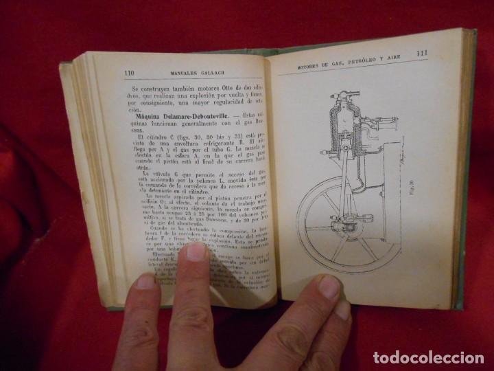 Libros antiguos: RICARDO YESARES. MOTORES DE GAS, PETRÓLEO Y AIRE- MANUAL GALLACH Nº51 - - Foto 5 - 74093379