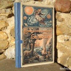 Libros antiguos: CONVERSACIONES FAMILIARES SOBRE GEOLOGÍA, TOMO I PALEONTOLOGÍA, ED.GILI 1924, CONTIENE 132 GRABADOS. Lote 74970847