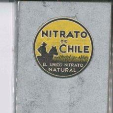 Libros antiguos: NITRATO DE CHILE DEL AÑO 1933. Lote 75200923
