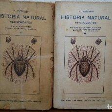 Libros antiguos: HISTORIA NATURAL. HETEROMORFOS I Y II. K. ZIMMERMANN. JUAN MOLINS. TOMO 13 Y 14.. Lote 75676499