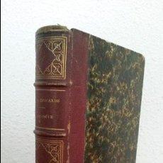 Libros antiguos: ZOOLOGIE. M. MILNE EDWARDS. COURS ELEMENTAIRE D`HISTOIRE NATURELLE. PARIS 1858. EN FRANCES . Lote 75677607