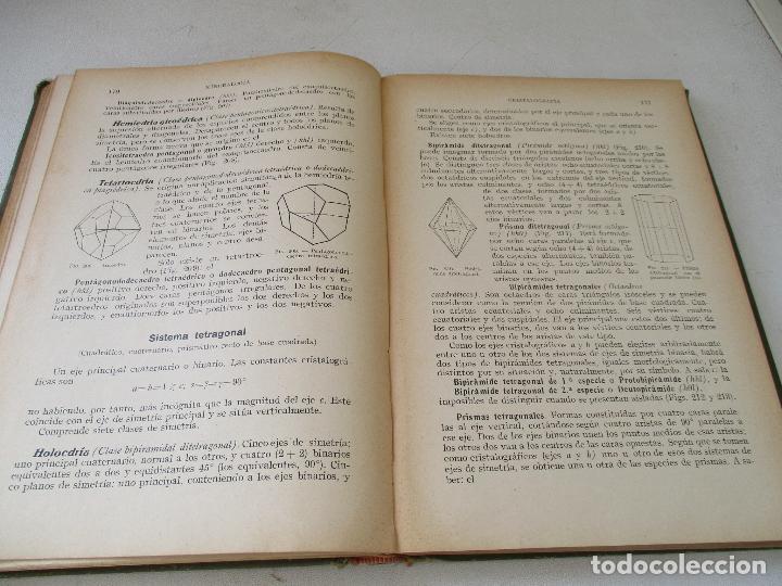 Libros antiguos: SALUSTIO ALVARADO:GEOLOGÍA PARA EL BACHILLERATO UNIVERSITARIO-1929-BARCELONA-1ª. EDC - Foto 6 - 76687731