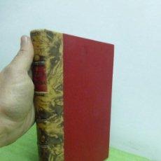 Libros antiguos: QUÍMICA APLICADA - JUAN JOSE MUÑOZ DE MADARIAGA - FINALES DEL S. XIX - FABULOSA ENCUADERNACIÓN. Lote 76931565