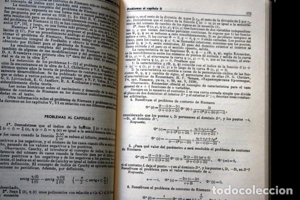 Libros antiguos: PROBLEMAS DE CONTORNO - F.D. GAJOV - ed. MIR - RARO - Foto 3 - 77291229
