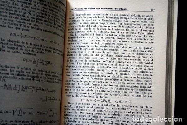 Libros antiguos: PROBLEMAS DE CONTORNO - F.D. GAJOV - ed. MIR - RARO - Foto 4 - 77291229