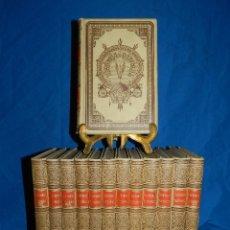 Libros antiguos: (MF) HISTORIA NATURAL - MONTANER Y SIMON EDT., BARCELONA 1891 , COMPLETA 13 VOLUMENES. Lote 77343713