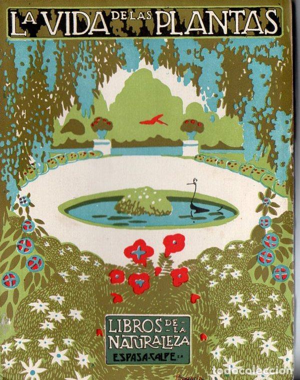 DANTÍN CERECEDA :LA VIDA DE LAS PLANTAS - LIBROS DE LA NATURALEZA ESPASA CALPE, 1936 (Libros Antiguos, Raros y Curiosos - Ciencias, Manuales y Oficios - Bilogía y Botánica)