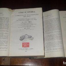 Libros antiguos: CURSO DE BOTÁNICA O ELEMENTOS DE ORGANOGRAFÍA... POR MIGUEL COLMEIRO. DOS TOMOS. (1871). Lote 78073641