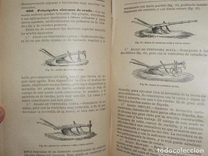 Libros antiguos: TRATADO DE AGRICULTURA ELEMENTAL + PROGRAMA DEL CURSO. FEDERICO REQUEJO Y MARIANO TORTOSA. 1901 - Foto 5 - 78341521