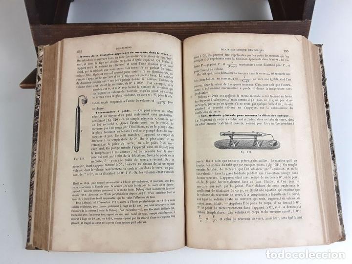 Libros antiguos: COURS DE PHYSIQUE ÉLÉMENTAIRE. P. A. DAGUIN. EDIT. F. TANDOU. 1863. - Foto 4 - 79136417