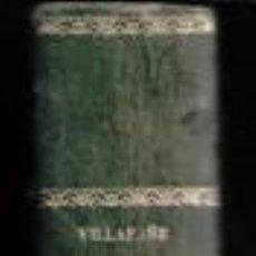 Libros antiguos: TRATADO DE ANÁLISIS MATEMÁTICO (ALGEBRA SUPERIOR, JOSÉ MARÍA VILLAFAÑE Y VIÑALS.. Lote 80732042