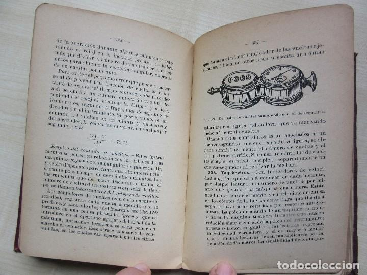 Libros antiguos: Practicas de mediciones eléctricas .Medidas y verificaciones Francisco del Rio Joan 1913 - Foto 6 - 80865403