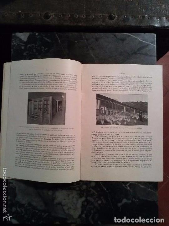 Libros antiguos: PROGRAMA INICIAL DE LA, REAL ESCUELA OFICIAL ESPAÑOLA DE AVICULTURA, de Arenys de Mar DEL AÑO 1930.c - Foto 5 - 81564376