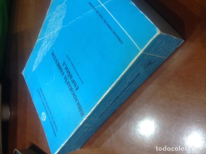 Libros antiguos: Bibliografia forestal española - Foto 2 - 82058700