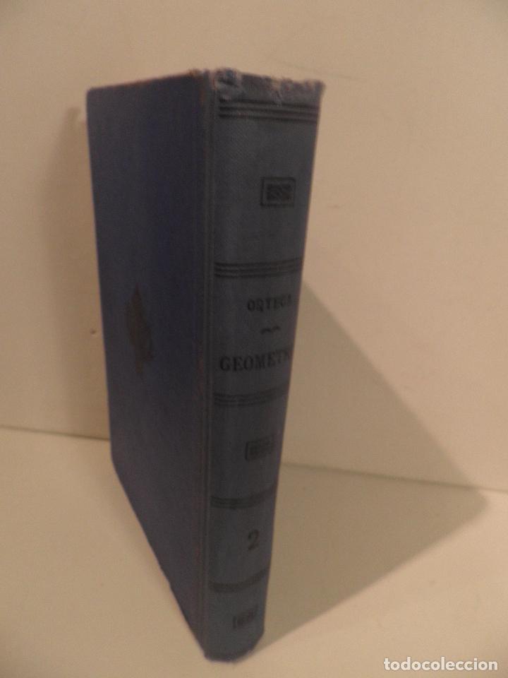 Libros antiguos: GEOMETRIA-ORTEGA Y SALA-TOMO SEGUNDO-RD HERNANDO-1928 - Foto 3 - 82516176