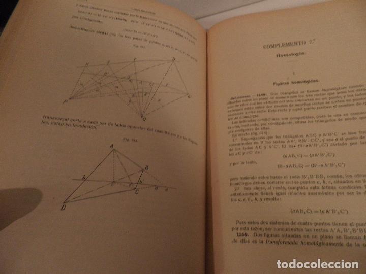Libros antiguos: GEOMETRIA-ORTEGA Y SALA-TOMO SEGUNDO-RD HERNANDO-1928 - Foto 8 - 82516176