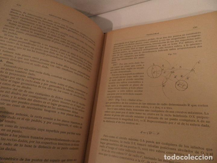 Libros antiguos: GEOMETRIA-ORTEGA Y SALA-TOMO SEGUNDO-RD HERNANDO-1928 - Foto 9 - 82516176