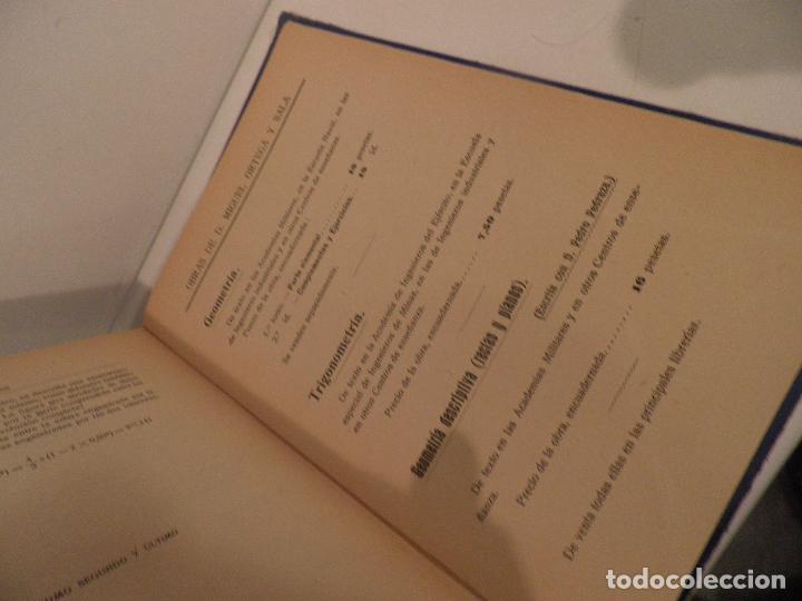 Libros antiguos: GEOMETRIA-ORTEGA Y SALA-TOMO SEGUNDO-RD HERNANDO-1928 - Foto 14 - 82516176