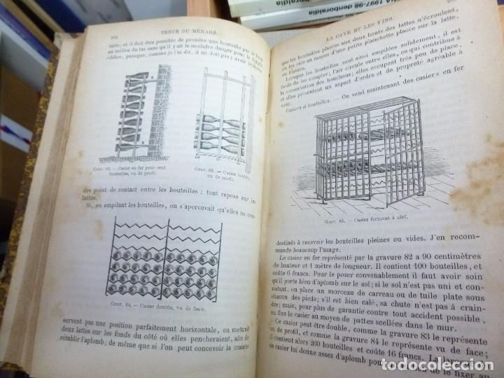 Libros antiguos: Maison Rustique des dames, Mme. Millet- Robinet 2 tomos quinta Edición (1899) - Foto 5 - 82882112