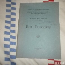 Libros antiguos: LOS PULGONES- AURELIO RUIZ CASTRO. PAPELERÍA MOYA, 1936. PRIMERA EDICION. Lote 83032856