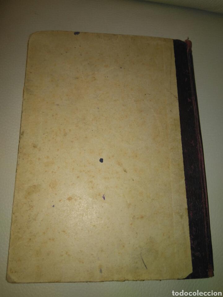 Libros antiguos: APUNTES DE ELEMENTOS DE ALGEBRA- J.BUSQUETS GORINA. FECCHADO 1917. PRIMERA EDICION. LETRA ENLAZADA. - Foto 3 - 84450058