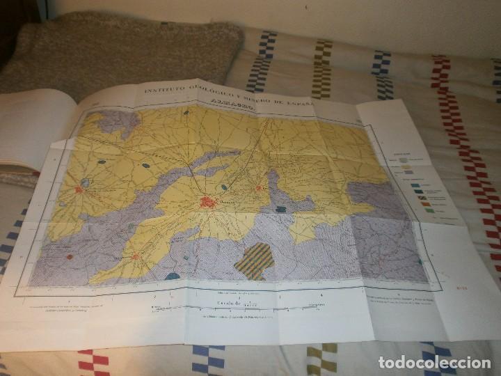 Libros antiguos: Mapa geológico de España Almagro Instituto Geológico y minero de España Memoria Explicativa 1935 - Foto 4 - 85219660