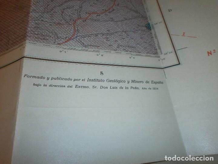 Libros antiguos: Mapa geológico de España Almagro Instituto Geológico y minero de España Memoria Explicativa 1935 - Foto 5 - 85219660