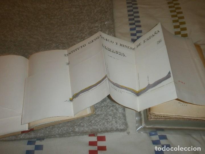 Libros antiguos: Mapa geológico de España Almagro Instituto Geológico y minero de España Memoria Explicativa 1935 - Foto 6 - 85219660