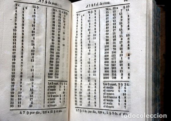 Libros antiguos: NUEVAS CUENTAS HECHAS - BARREME - 1850 - incluye reducciones de dineros - Impr. José Piferrer - Foto 9 - 86208904