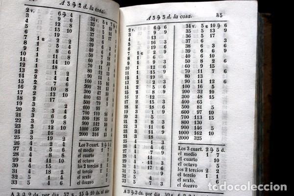 Libros antiguos: NUEVAS CUENTAS HECHAS - BARREME - 1850 - incluye reducciones de dineros - Impr. José Piferrer - Foto 10 - 86208904