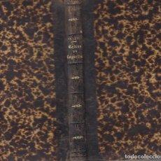Libros antiguos: TABLAS DE LOS LOGARITMOS VULGARES Y LINEAS TRIGONOMETICAS V.VÁZQUEZ 1890. Lote 87367020