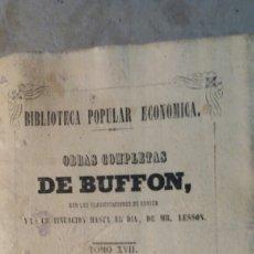 Libros antiguos: HISTORIA DE LOS MINERALES Y DICCIONARIO DE MINERALES .1848. Lote 88209143