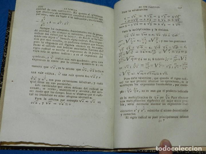 Libros antiguos: (MF) LA LENGUA DE LOS CALCULOS ESCRITA POR EL ABATE CONDILLAC , MADRID 1805 - Foto 2 - 240462975