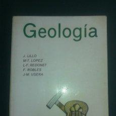 Libros antiguos: GEOLOGÍA. Lote 89659244