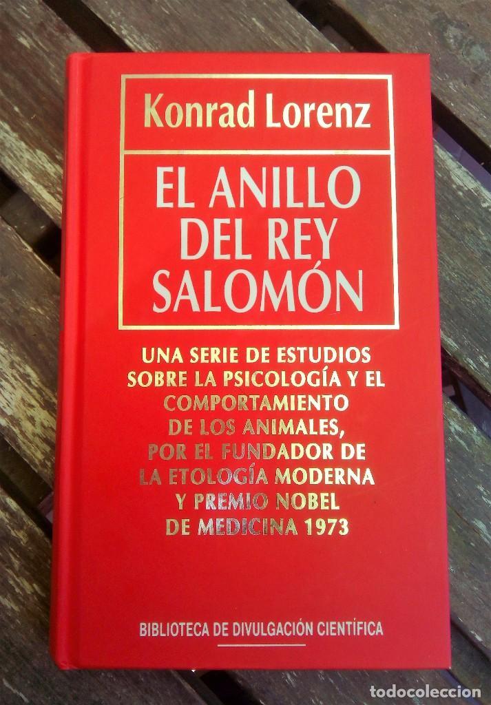 EL ANILLO DEL REY SALOMÓN KONRAD LORENZ BIBLIOTECA DIVULGACIÓN CIENTÍFICA TOMO 7 (Libros Antiguos, Raros y Curiosos - Ciencias, Manuales y Oficios - Bilogía y Botánica)