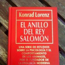 Libros antiguos: EL ANILLO DEL REY SALOMÓN KONRAD LORENZ BIBLIOTECA DIVULGACIÓN CIENTÍFICA TOMO 7. Lote 89677532