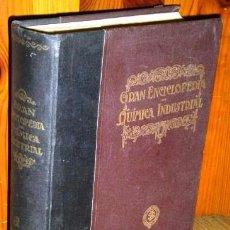 Libros antiguos: GRAN ENCICLOPEDIA DE QUÍMICA INDUSTRIAL / TOMO 1 POR MUSPRATT DE ED. FRANCISCO SEIX EN BARCELONA S/F. Lote 88761614