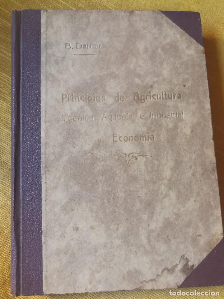 PRINCIPIOS DE AGRICULTURA. TÉCNICA AGRÍCOLA E INDUSTRIAL Y ECONÓMICA. BERTOLOME DARDER. 1935 (Libros Antiguos, Raros y Curiosos - Ciencias, Manuales y Oficios - Bilogía y Botánica)